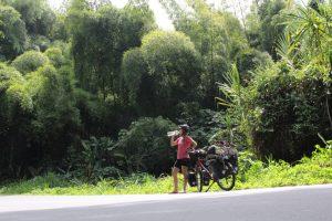 colombie vélo pluie région café bombheros