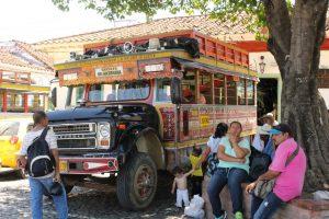 colombie, voyage à vélo, bombheros, région café