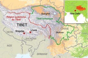 carte tibet