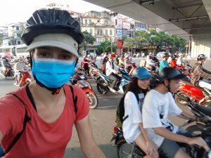cyclotourisme, voyage à vélo, vietnam, hanoï, plateaux tibétains, bombheros, film