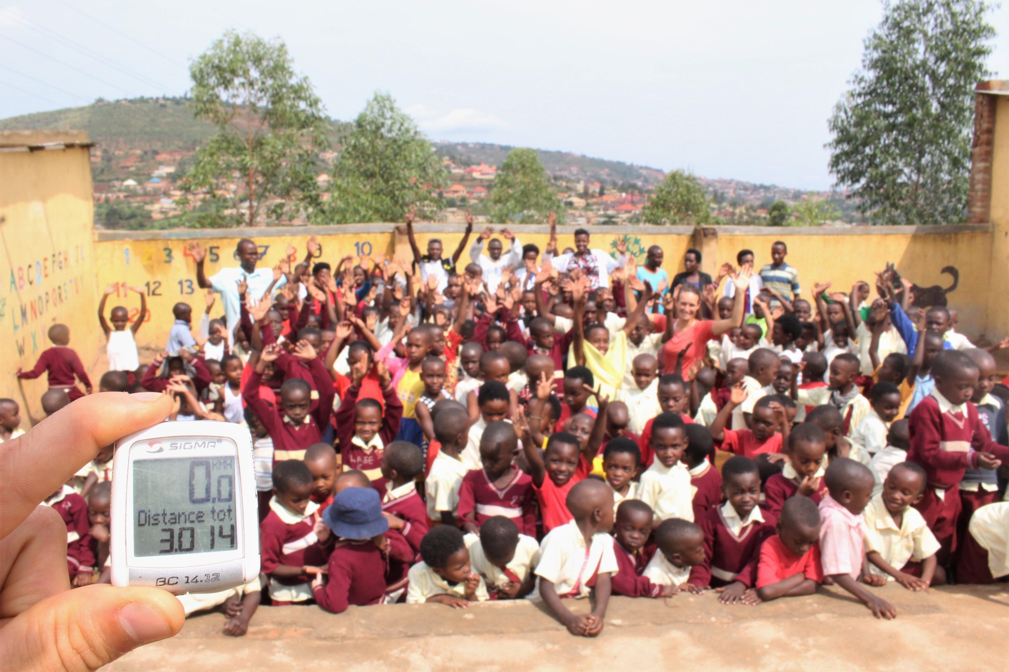 Pédalons pour les orphelins du Rwanda