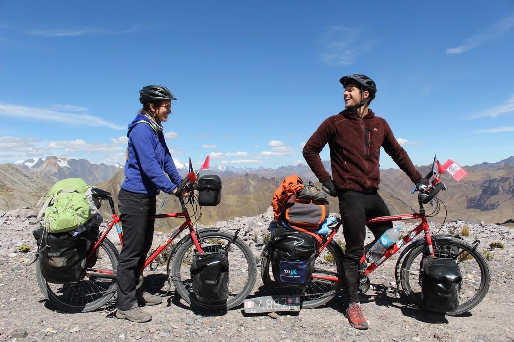 Bomb'Héros 2016 : l'Amérique du Sud à vélo