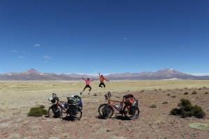 Salar Surir Chili Vélo