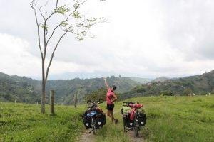 vélo colombie cyclotourisme région café bombheros